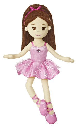 (Aurora World Brunette Ballerina 14.5
