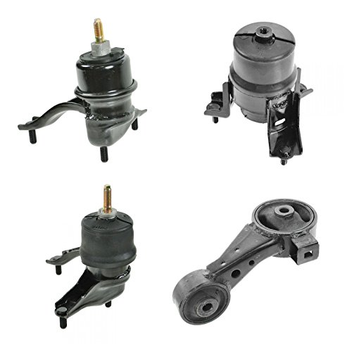 Engine & Transmission Mount Kit Set of 4 for 02-06 Toyota Camry V6 3.0L (Toyota 3l Engine)