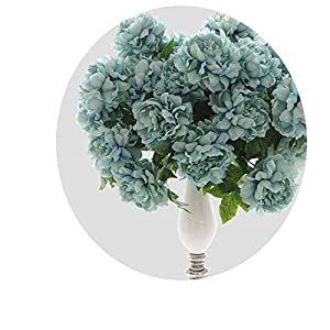 Endand 5 Heads/Bouquet Peony Artificial Flowers Home Decor Silk Fake Flower Peonies Artificial Flowers for Wedding DIY Decoration 114