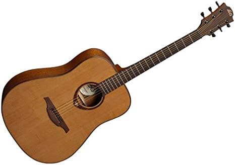 Lag: Tramontana T200D – Guitarra acústica dreadnought: Amazon ...