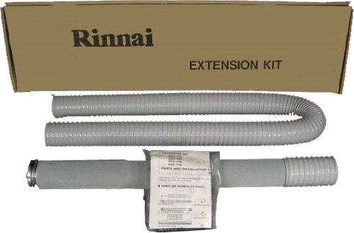 Rinnai FOT157 61 to 79.6-Inch Vent Pipe Extension Set by Rinnai