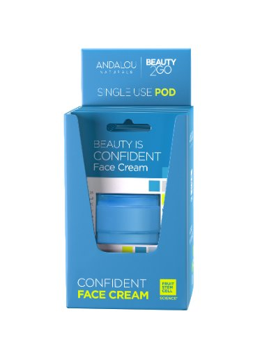 Beauty Is Confident Face Cream Pod Argan Stem Cell - 0.14 oz. by Andalou Naturals (pack of 6) 4 Pack - Skin Care LdeL Cosmetics Retinol Vitamin Enriched Skin Brighter 1 oz