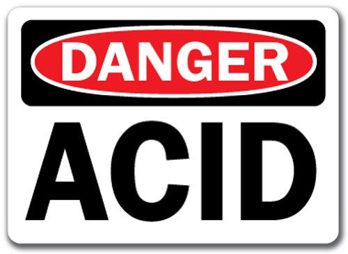 (Danger Sign - Acid - 10
