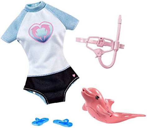 [해외]바비 돌고래 매직 스노클 세트 패션 팩 / Barbie Dolphin Magic Snorkel Set Fashion Pack