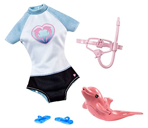 Barbie Swimsuit - Barbie Dolphin Magic Snorkel Set Fashion Pack