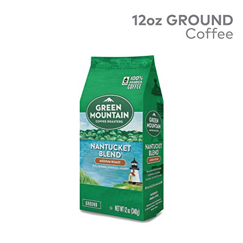 Green Mountain Coffee Roasters, Nantucket Blend, 12 oz. Ground Bag, Medium Roast Coffee, (2) Bags (Green Mountain Nantucket Blend K Cups Best Price)