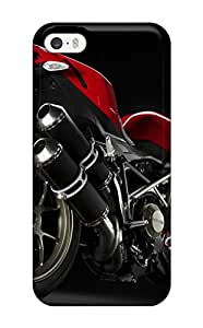Alex Perez Riva's Shop Hard Plastic Iphone 5/5s Case Back Cover,hot Ducati Streetfighter Red Rear Case At Perfect Diy 5909912K40441991