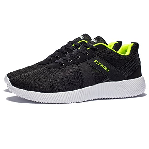 FLYWING Mens Mesh Running Shoes Lightweight Athletic Shoes Breathable Leisure Sports Shoes