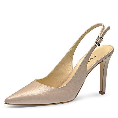 Evita Shoes - Zapatos de vestir de Piel para mujer Beige - Hellbeige