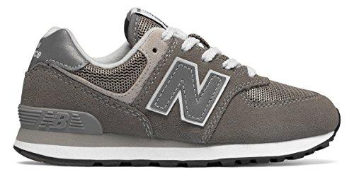 サイバースペースいっぱい紫の(ニューバランス) New Balance 靴?シューズ レディースランニング 574 Core Grey グレー US 3.5 (21.5cm)