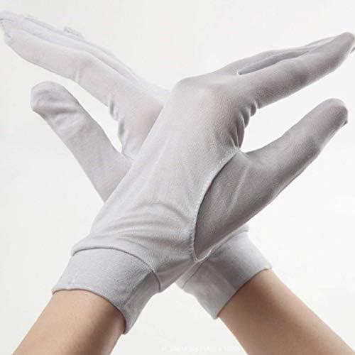 全7色 ライトグレー 手荒れ対策 手袋 保湿ケアシルク手袋 おやすみ ハンドケア