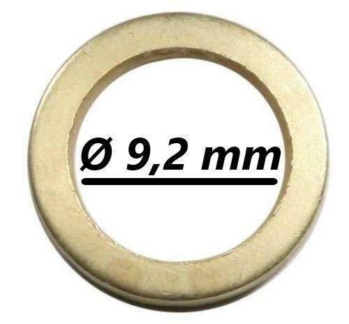 100anneaux fitsche–Ø extérieur 13, 2mm/Diamètre intérieur 9, 2mm 2mm/Diamètre intérieur 9 S&S-Shop