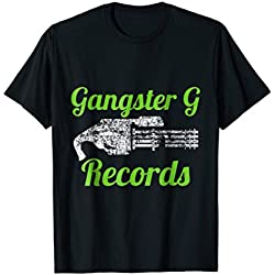 Gaming Dad Zombie Gangster G Records Music shirt for men