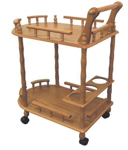 ORE International JW-104 2-Tier Wine Table, ()