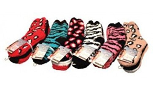 Blue Star Clothing 3pk-bb-anml Animal Print Socks, One Size (Pack of 36) by Blue Star Clothing