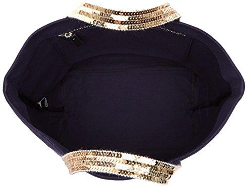 Tote Medium Et Cabas Donna Borse indigo Paillettes Bruno Or Coton Vanessa Blu UZfA0q1