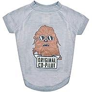 Star Wars Chewbacca Original Co-Pilot Dog Tee   Star Wars Dog Shirt for Large Dogs   XX-Large
