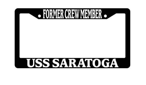 Amazon com: BIN SHANG Former Crew Member USS Saratoga Black
