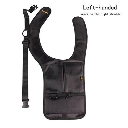 Hidden Billfold (Cool Anti-theft Hidden Multi-purpose Hidden Underarm Shoulder Bag Concealed Pack Wallet Tactical Bag Right Shoulder for Left-handed)
