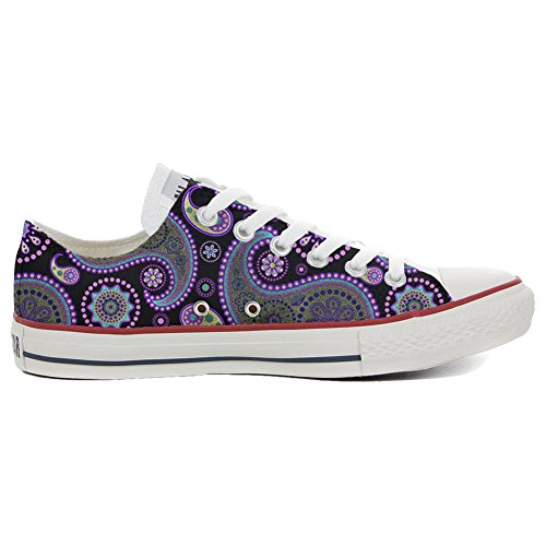 Converse All Star Customized - zapatos personalizados (Producto Artesano) Flowery Paisley