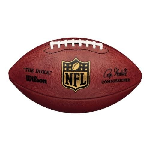 Wilson NFL Duke Game Ball Football marrón, marrón