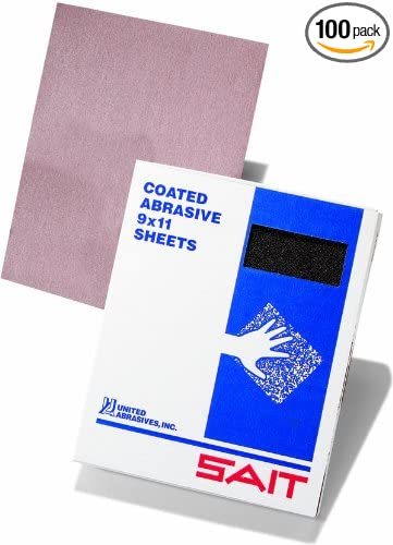 United Abrasives-SAIT 84286 150 by Ultimate Performance 9 by 11 Paper Sheet