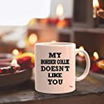 Sarcastic Mug - Funny Team Cup Coffee Mugs Border Collie Doesnt Like You Best | Thoughtful T-Shirt Gift 10