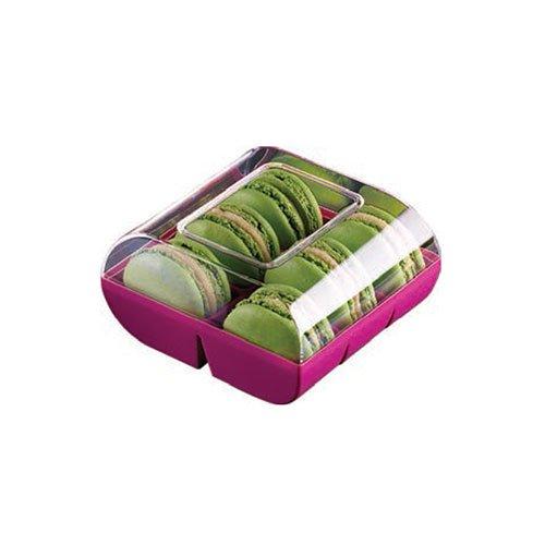 silikomart Professional - Caja Color 6 Macarons 90 Cajas Negras. Cocina: Alrededor de la Pâtisserie (Le Macaron del Chef): Amazon.es: Hogar