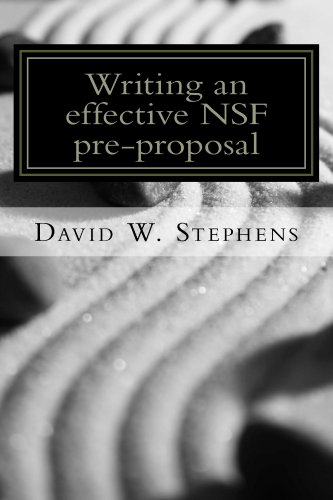 Writing an effective nsf pre proposal david w stephens read this title for free and explore over 1 million titles thousands of audiobooks and current magazines with kindle unlimited fandeluxe Gallery