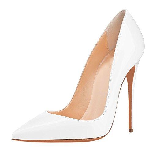 Arc-en-Ciel zapatos de mujer en punta zapato de tacón alto Blanco