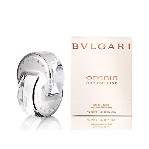 Bvlgari Women's Omnia Crystalline Eau De Toilette Spray,Silver,1.33 oz ()
