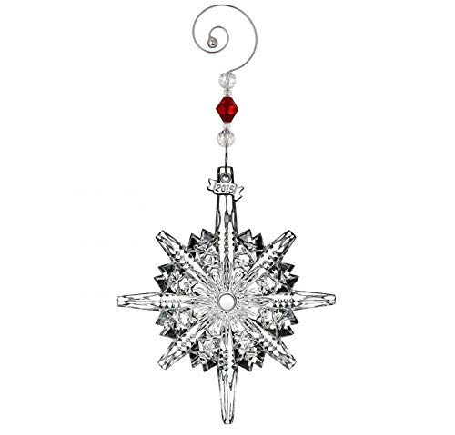 Waterford Ornament Annual Crystal (Waterford Crystal 2015 Annual Snowstar Ornament)