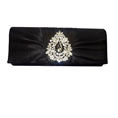 PrestigeApplause - Jewels 3817461929903, Poschette giorno donna nero Black