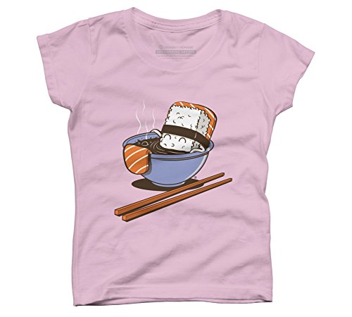 jacuzzi-food-girls-x-small-pink-youth-graphic-t-shirt-design-by-humans