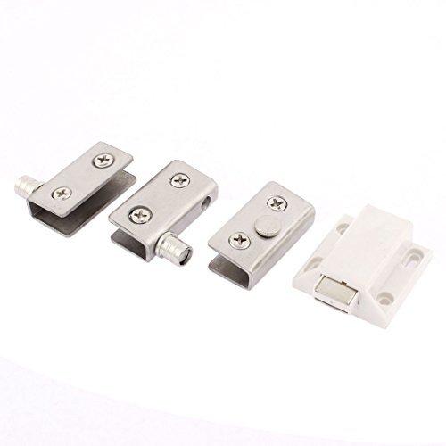 eDealMax Porta 6mm-8 millimetri di spessore vetro morsetto Clip magnetica Cattura Serie di agganci