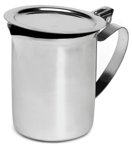 Imusa Creamer with Cover, 10 Ounce, Stainles Steel Imusa USA PHI-C5045