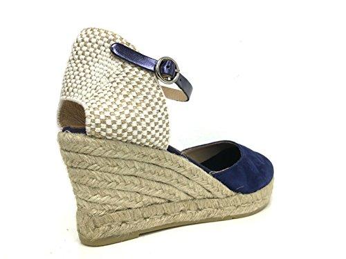 KANNA - Sandalias de vestir para mujer azul turquesa 37 EU