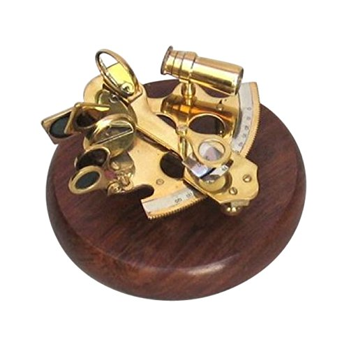 全ての 真鍮製六分儀、木製ベース – B01457S294 航海の装飾 航海の装飾 B01457S294, ドレスショップJewel:4aec2bce --- arcego.dominiotemporario.com