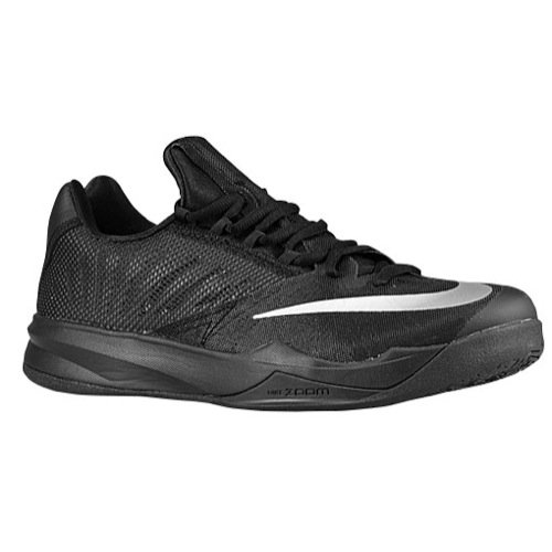 more photos 9a5cf 424eb Nike Mens Zoom Run The One Basketball Shoes Black (11.5)