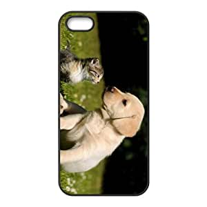 Dog And Cat Hight Quality Plastic Case for Iphone 5s