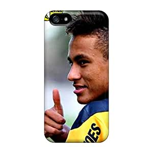SpecialUandMe Case Cover For Iphone 5/5s - Retailer Packaging The Football Player Of Barcelona Neymar And His New Hairstyle Protective Case