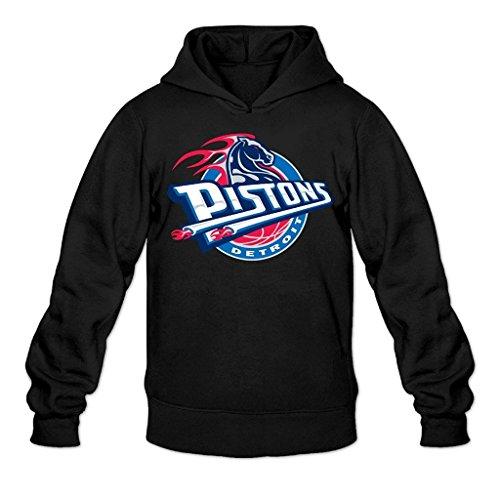 Mqx Womens Custom Detroit Piston Helmet Logo Pullover Hood Hoodie Sweatshirt XS (Detroit Pistons Womens Hoodie)
