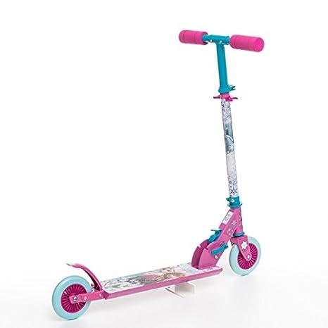 Patinete Frozen (2 ruedas): Amazon.es: Juguetes y juegos