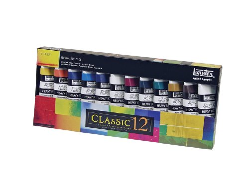 Liquitex Professional Heavy Body Acrylic Paint Set, Classic