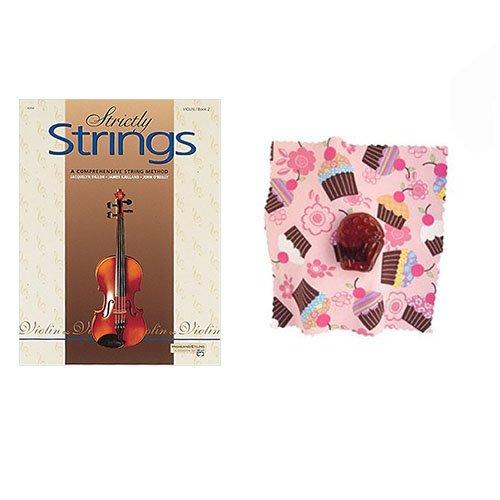 (Strictly Strings Violin Book 2 - with BONUS Cupcake Rosin)
