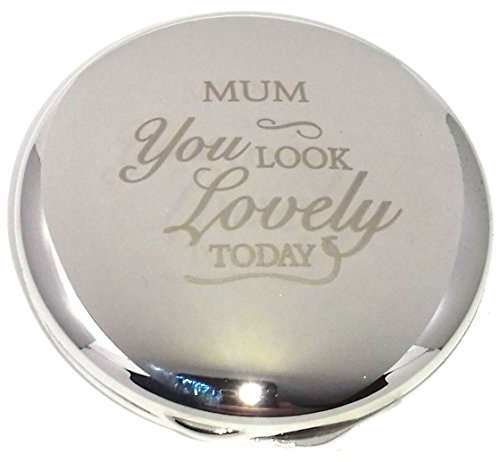 MUM YOU LOOK LOVELY TODAY COMPACT MIRROR for my Gifts Presents Gift Idea...