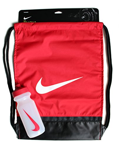 Nike Brasilia Gymsack and 22oz Big Mouth Water Bottle