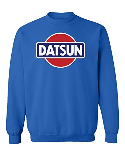 TURXIN New Graphic Retro Coupe Racing Auto Unisex Youth Sweatshirt Crewneck Sweater (Royal, Youth Small)