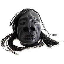 "Loftus Mini Shrunken Head Halloween Decoration 3"" Prop Black"