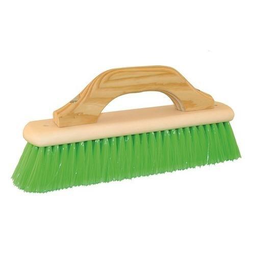 Kraft Tool CC268, 12'' Pool Finish Brush w/ Wood Handle, Pack of 6 pcs